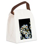 Blossoming darkness Canvas Lunch Bag