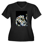 Blossoming darkness Plus Size T-Shirt