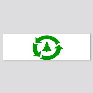 EARTH DAY SHIRT RECYCLE SYMBOL TREE T-SHIRT Sticke