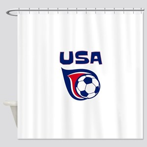 USA soccer Shower Curtain