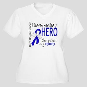 Colon Cancer Heav Women's Plus Size V-Neck T-Shirt