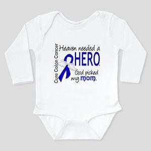 Colon Cancer HeavenNee Long Sleeve Infant Bodysuit
