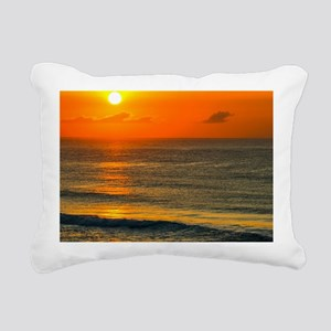 Sunset Rectangular Canvas Pillow