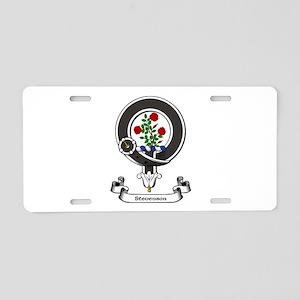 Badge-Stevenson Aluminum License Plate