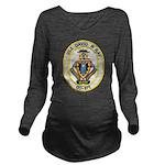 USS DAVID R. RAY Long Sleeve Maternity T-Shirt