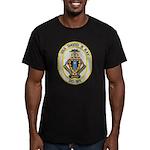 USS DAVID R. RAY Men's Fitted T-Shirt (dark)