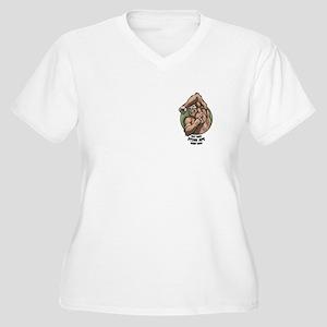 Stink Ape Women's Plus Size V-Neck T-Shirt