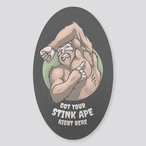 Stink Ape Sticker (Oval)