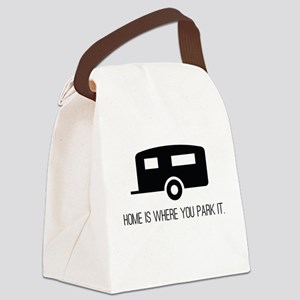 Home is Where You Park It Canvas Lunch Bag