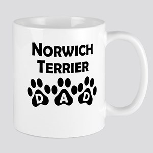 Norwich Terrier Dad Mugs