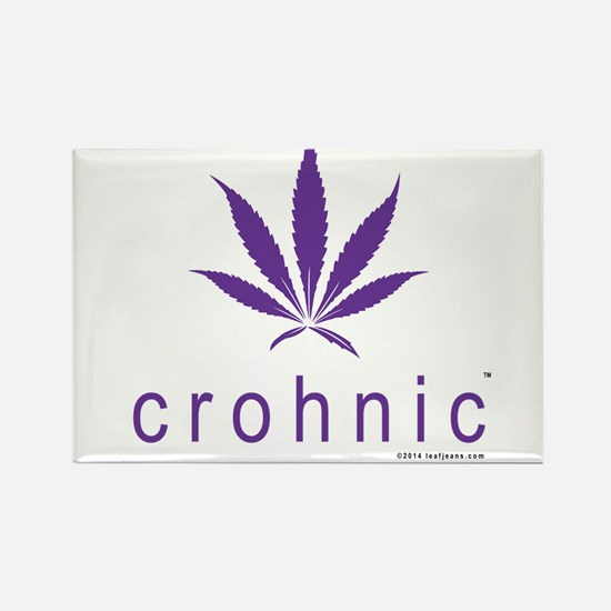 Crohnic - Cure for Crohns - Print Lights Magnets