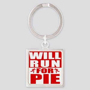 Run for Pie (Red) Keychains