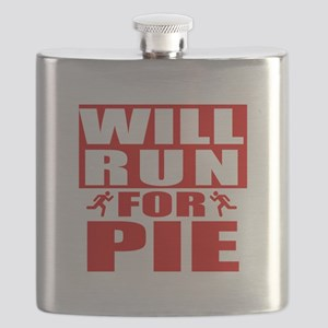 Run for Pie (Red) Flask