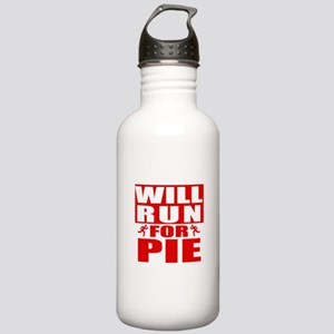 Run for Pie (Red) Water Bottle