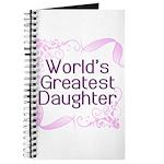 World's Greatest Daughter Journal