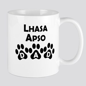 Lhasa Apso Dad Mugs