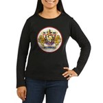 USS EVERSOLE Women's Long Sleeve Dark T-Shirt