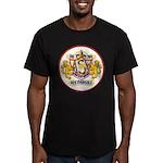 USS EVERSOLE Men's Fitted T-Shirt (dark)
