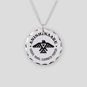 Anishinaabe Flag Necklace
