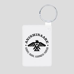 Anishinaabe Flag Keychains