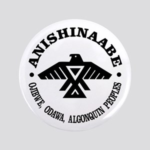 "Anishinaabe Flag 3.5"" Button"