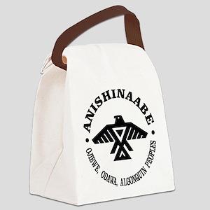 Anishinaabe Flag Canvas Lunch Bag