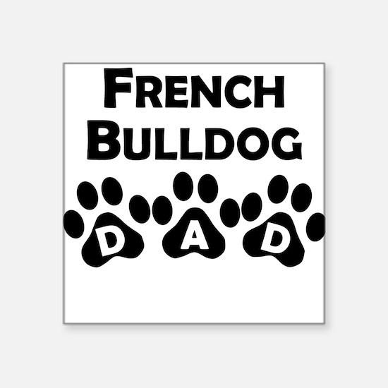 French Bulldog Dad Sticker
