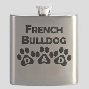 French Bulldog Dad Flask