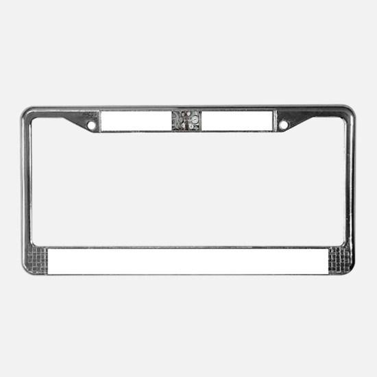Gauges License Plate Frame