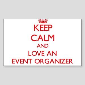 Keep Calm and Love an Event Organizer Sticker