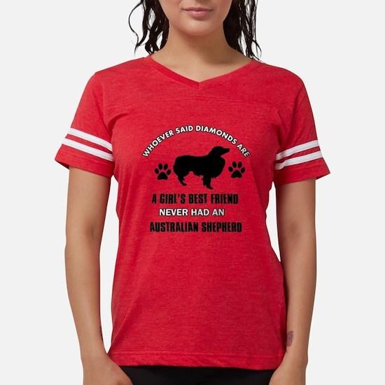 Australian Shepherd Mommy Designs T-Shirt