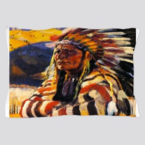 Indian Chief Pillow Case