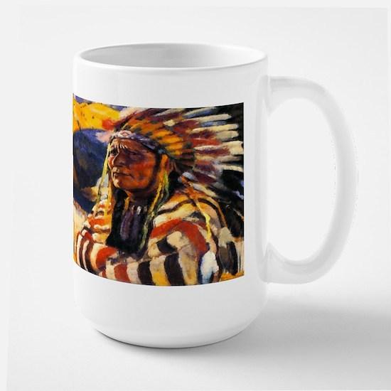 Indian Chief Large Mug