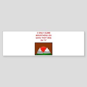 MOUNTAIN2 Bumper Sticker