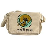 Year of the Ox Messenger Bag