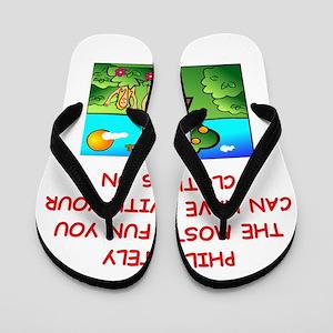 PHILATELY Flip Flops