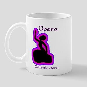 Opera story Diva Mug