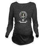 Badge-Paterson [Fife Long Sleeve Maternity T-Shirt