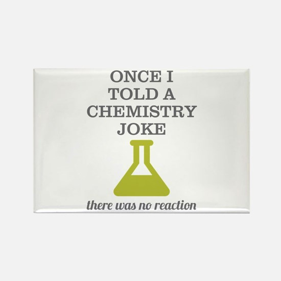 Chemistry Joke Rectangle Magnet