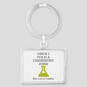 Chemistry Joke Landscape Keychain
