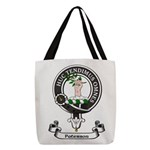Badge-Paterson [Fife] Polyester Tote Bag