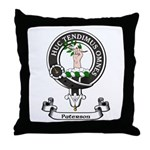 Badge-Paterson [Fife] Throw Pillow
