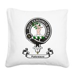Badge-Paterson [Fife] Square Canvas Pillow
