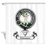 Badge-Paterson [Fife] Shower Curtain