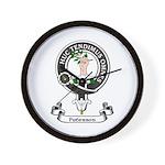 Badge-Paterson [Fife] Wall Clock