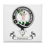 Badge-Paterson [Fife] Tile Coaster