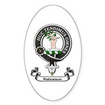 Badge-Paterson [Fife] Sticker (Oval 50 pk)