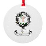 Badge-Paterson [Fife] Round Ornament