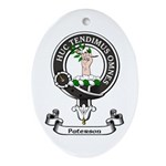 Badge-Paterson [Fife] Oval Ornament