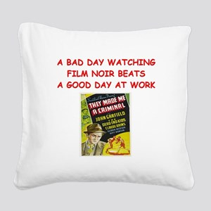 NOIR3 Square Canvas Pillow